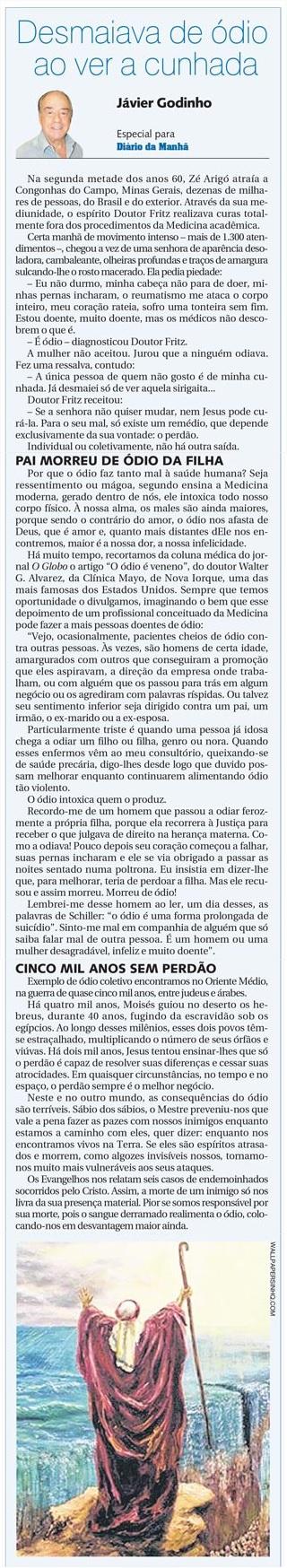 DM 25-06-2014 - Desmaiava de ódio ao ver a cunhada - Jávier Godinho