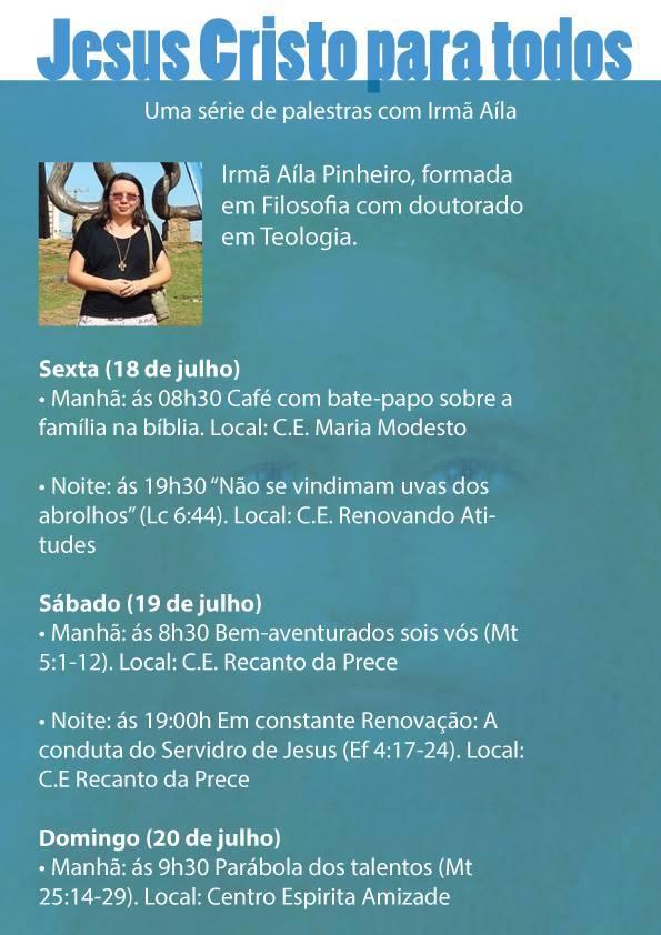 Jesus Cristo para todos - Irmã Aíla Pinheiro