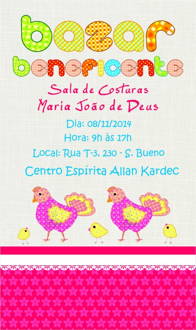 Convite Galinha 2014