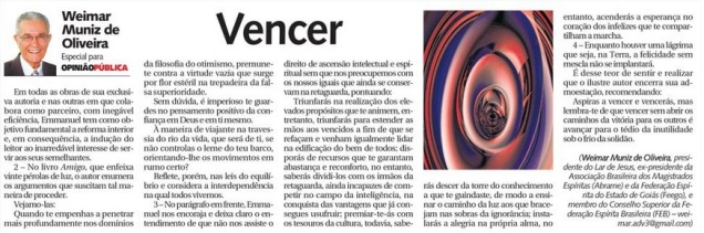 DM 25-01-2015 - Vencer - Weimar Muniz