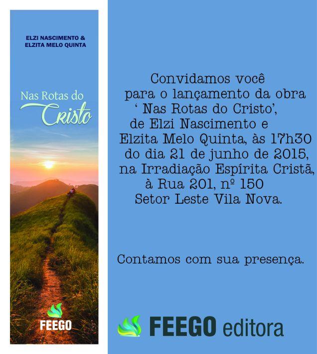 CONVITE NAS ROTAS DO CRISTO